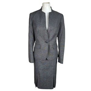 EVAN PICONE BLACK LABEL Polyester Lined Skirt Suit